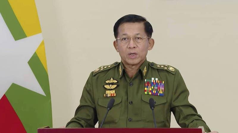 【國際】反制緬甸土匪暴力開槍殺人 美國宣布制裁敏昂來子女及6間企業
