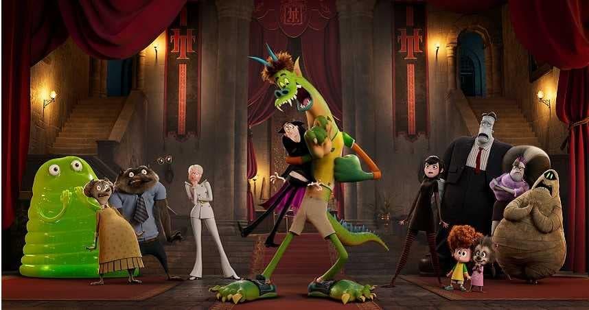 《尖叫旅社:變形怪獸》歐美票房保證最新預告 今年 8 月父親節在台上映