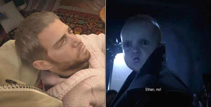《惡靈古堡8》破關模組「克里斯寶寶」與「蘿絲隊長」絕對出戲