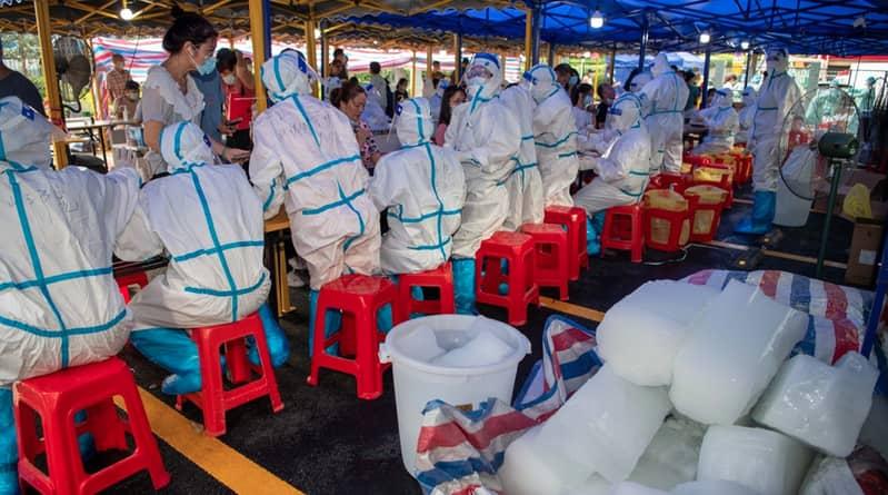 中國廣州查無感染源逼近封城 離開旅客及司機須持核酸檢測陰性證明