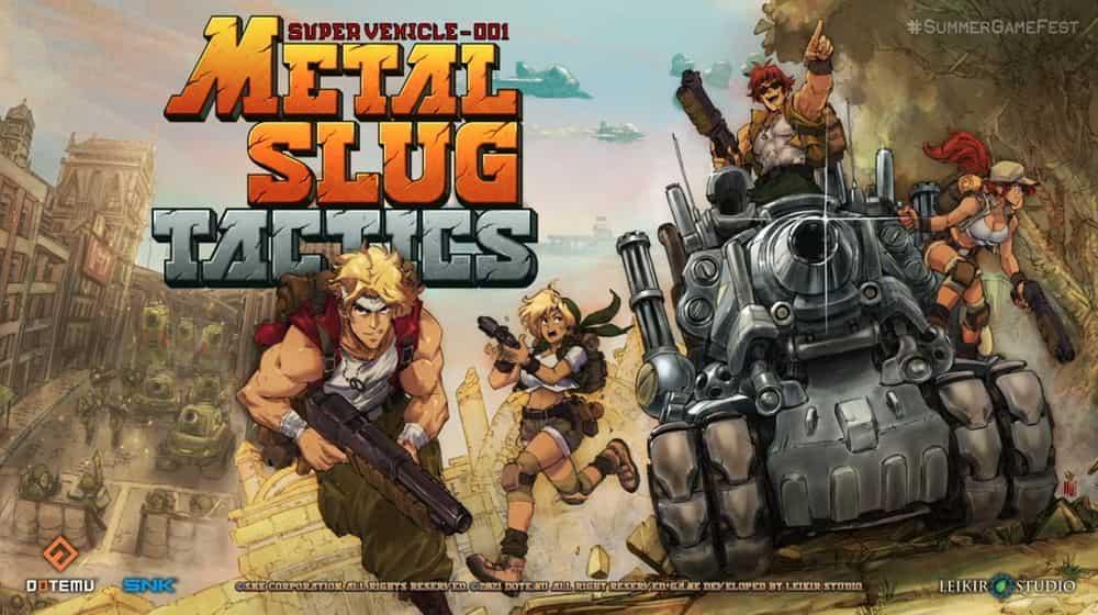 【E3 21】《越南大戰》系列新作全新玩法《越南大戰戰略版 Metal Slug Tactics》