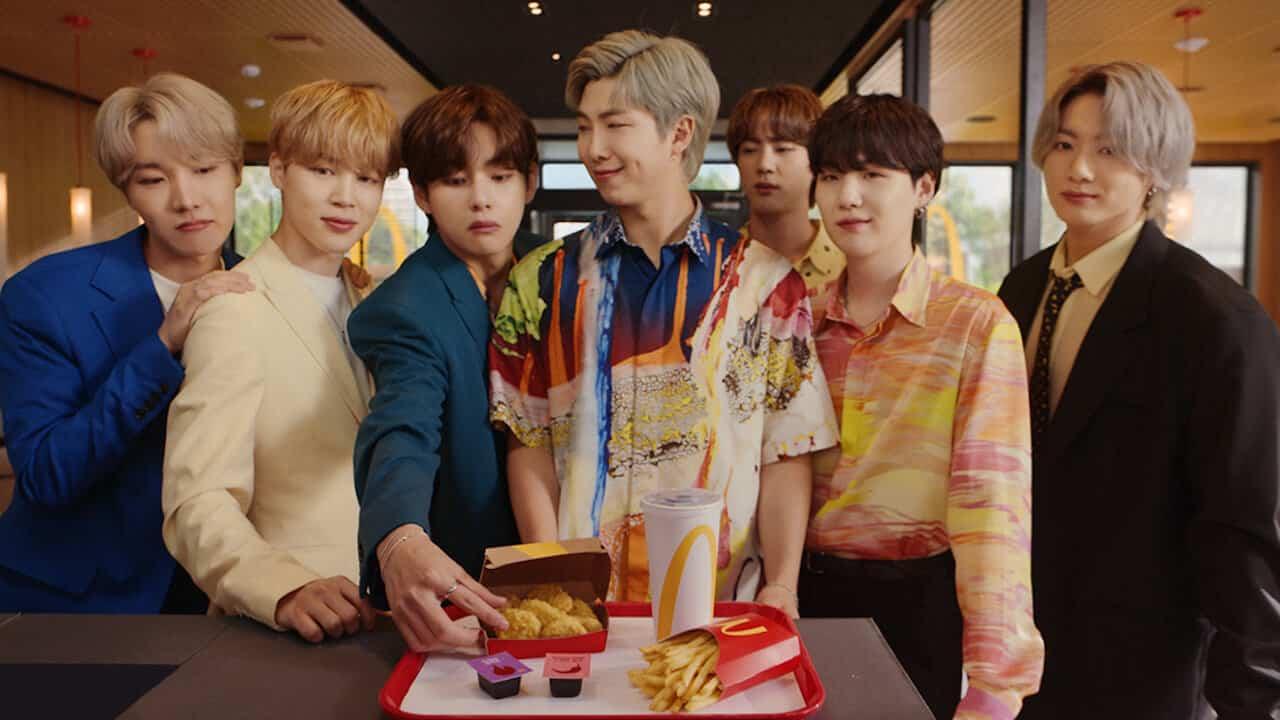 韓國最火天團BTS(防彈少年團) 麥當勞聯名套餐在台灣6/9開賣!