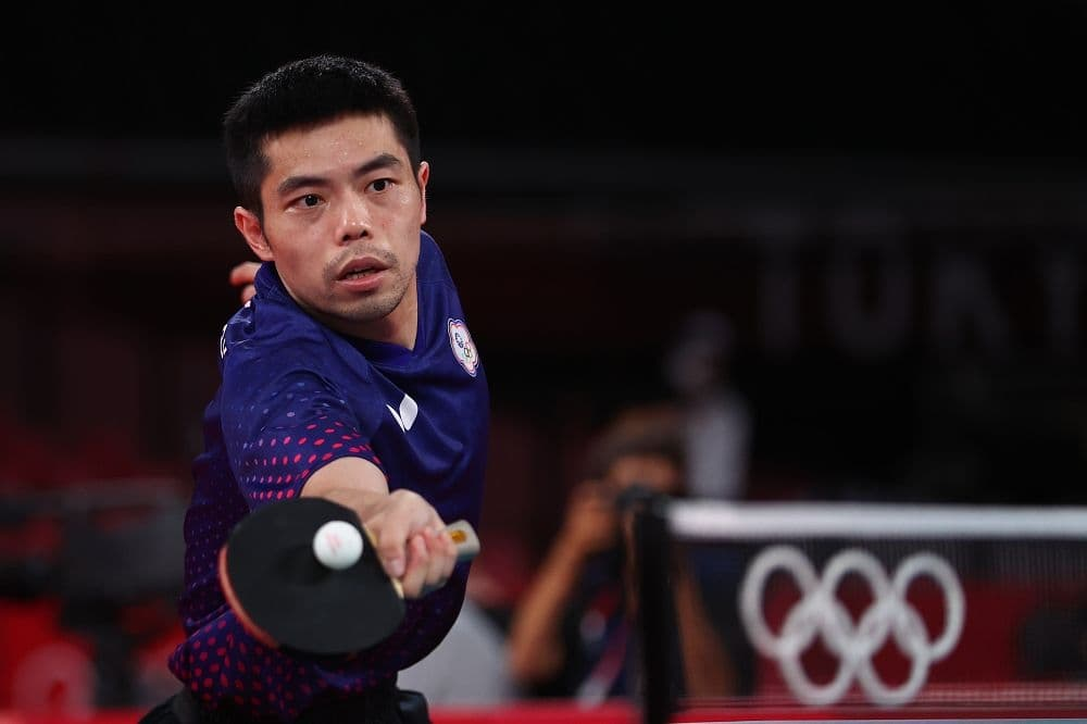 東奧》中華隊桌球男單 莊智淵大戰7局搶勝晉級