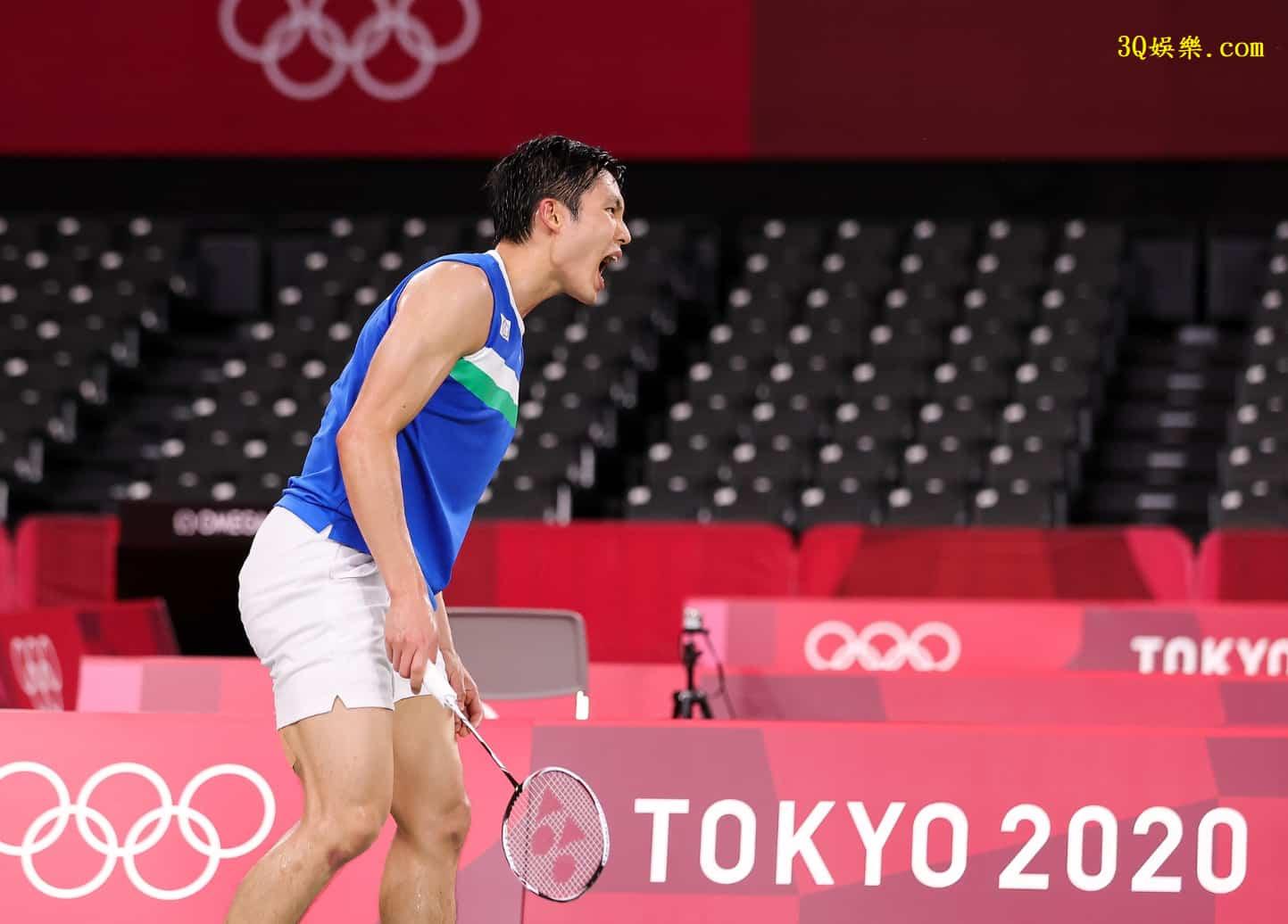 東奧》中華隊羽球周天成提前晉級8強 3局苦戰擊敗加拿大華裔強敵