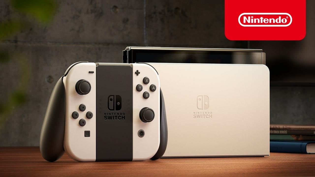 任天堂 Nintendo Switch OLED 新型主機確定 10 月 8 日同步在台推出