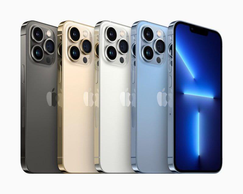 2021蘋果發表會  iPhone 13最貴1TB Pro Max要價5萬4400元