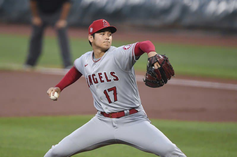 MLB》天使隊大谷翔平風速火球奪8次三振 先發117球再創紀錄