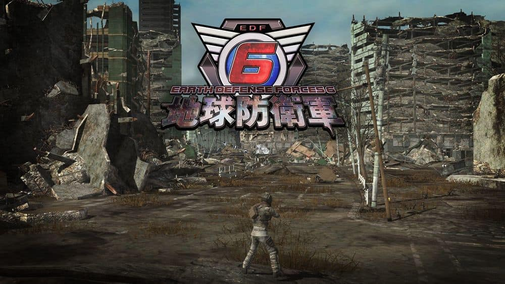 《地球防衛軍 6》確定於2022上市 PS4 / PS5 公開最新遊戲情報與試玩影片